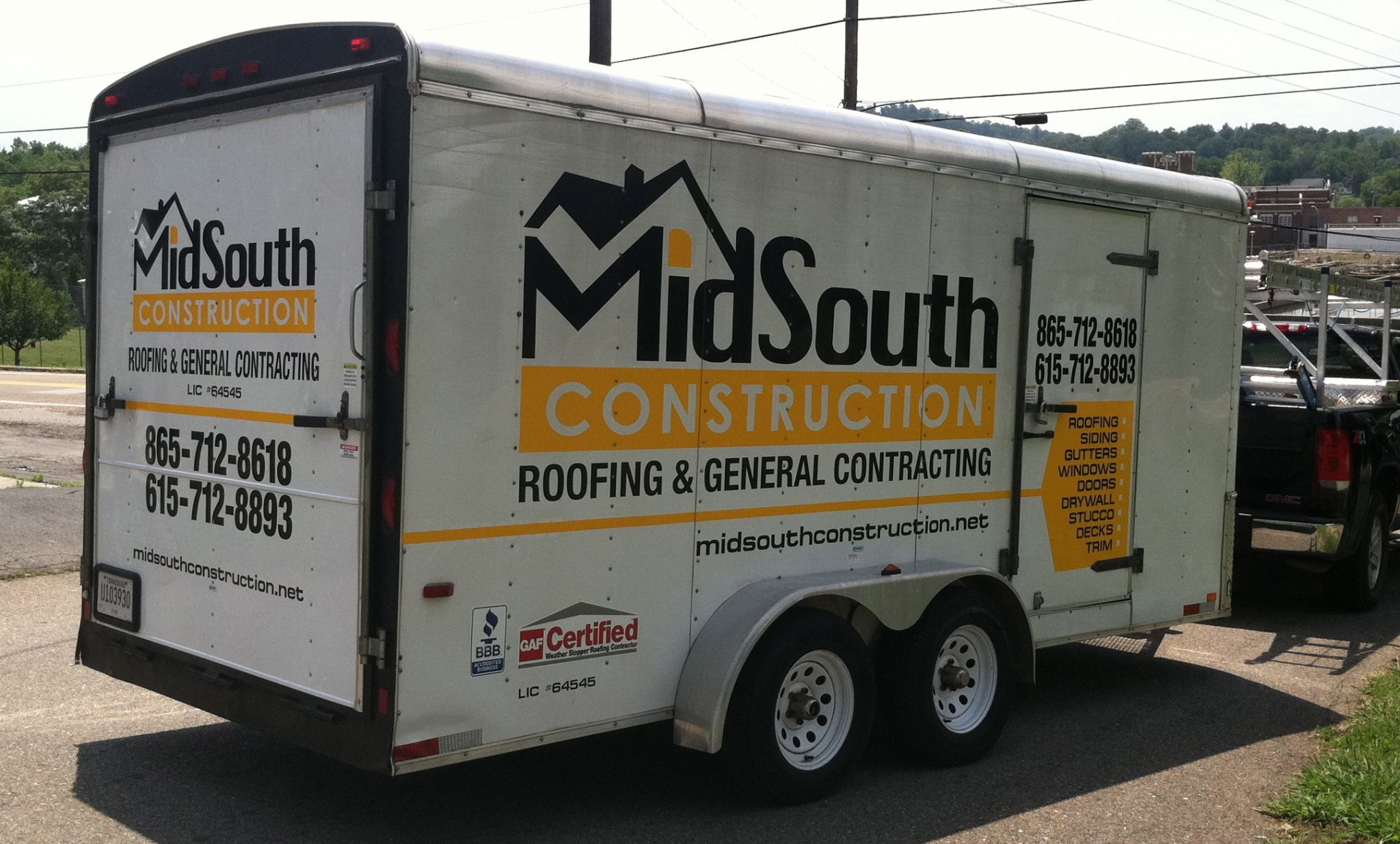 MidSouth Constrction Trailer