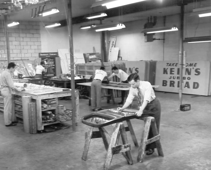 Parrott Printing has been open in Knoxville since 1932!