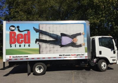 Bed Store New Truck Wrap 2