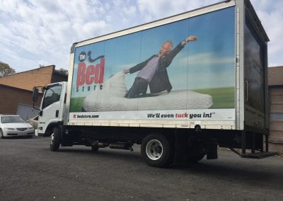 Bed Store New Truck Wrap