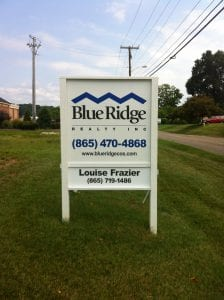 Blue Ridge Realty Sign