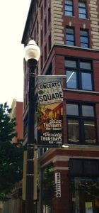 concerts on the square banner