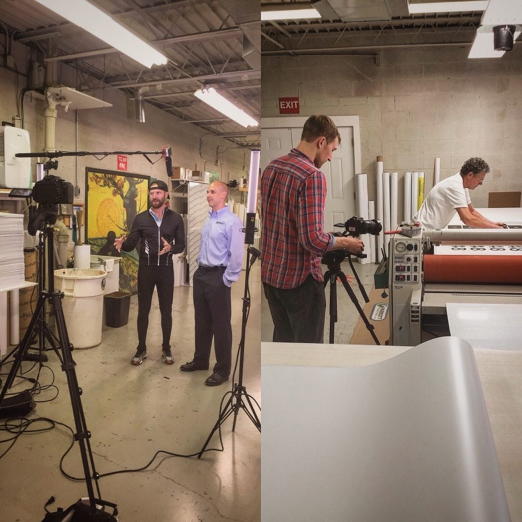 Interview of the Printing Process
