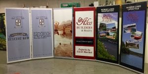 Banner stands 2