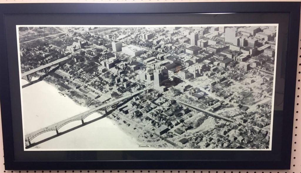 Vintage Downtown Knoxville Photo