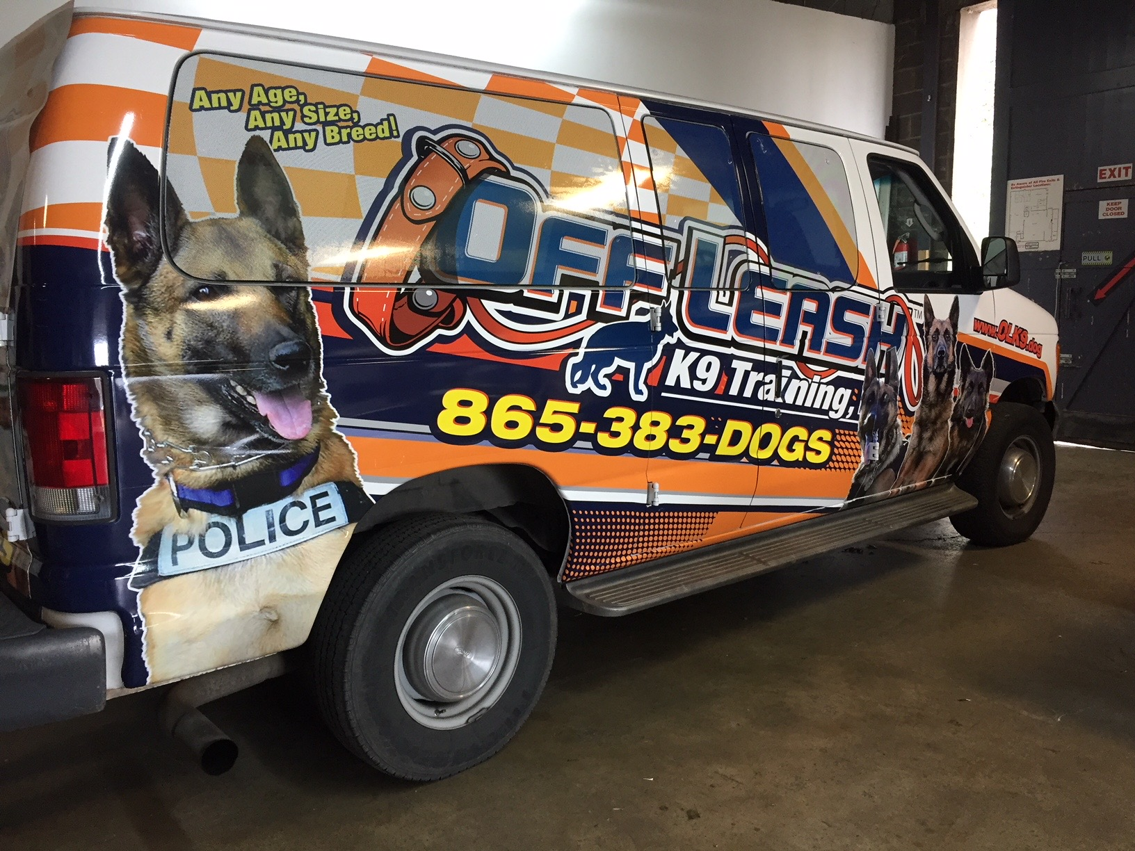 Vehicle Wraps for K9
