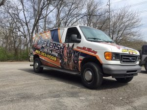 K9 vehicle wrapping parrott printing 2