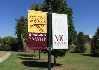 Maryville Pole banners