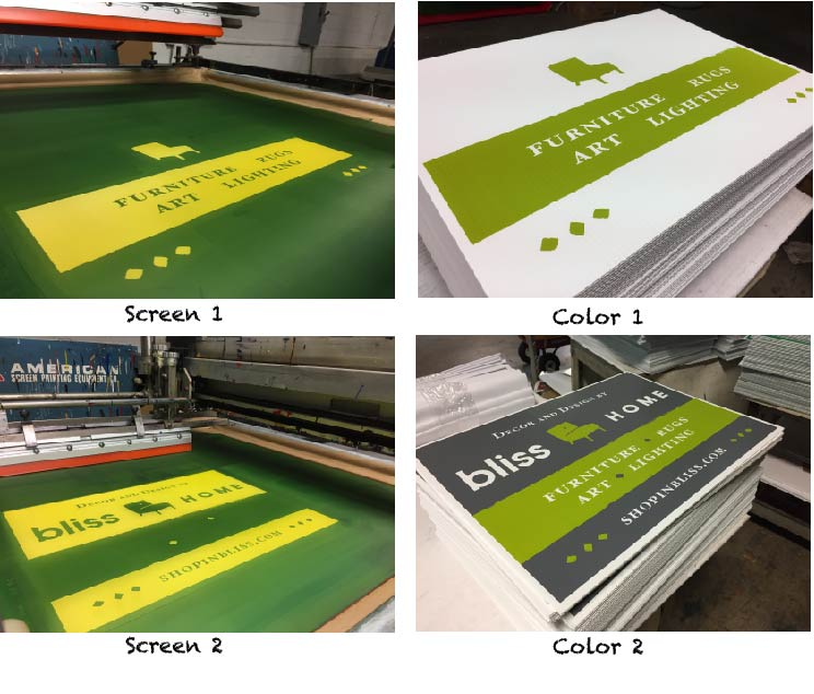 Step-By-Step Screen Printing Process