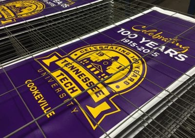 Tennessee Tech Pole Banners