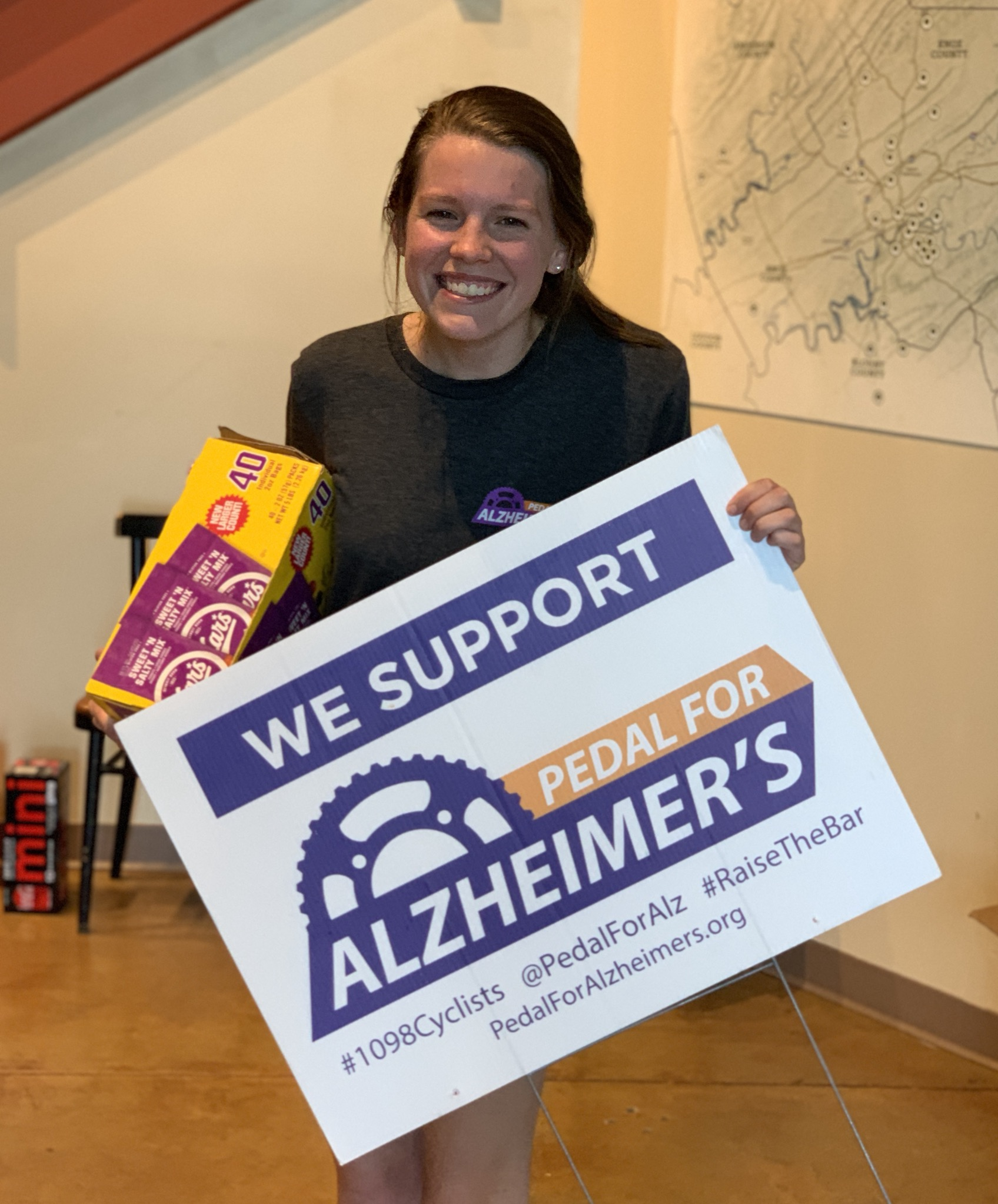Signs, Banners and Magnets for Pedal For Alzheimer's